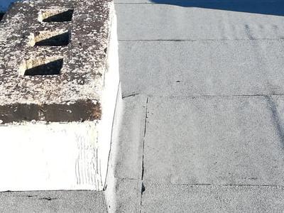 dach pokryty papą 1