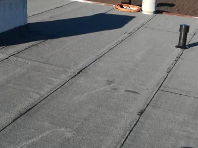 dach pokryty papą 2