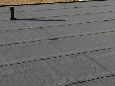 dach pokryty papą 3