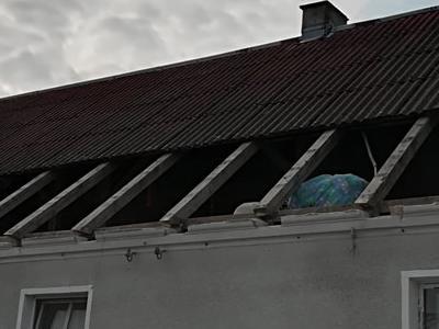 rozbiórka dachu
