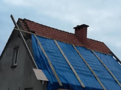 dach z czerwonej dachówki 1