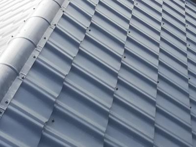 pokryty czarny dach 36